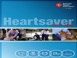 AHA Heart-saver CPR AED - Provider Course