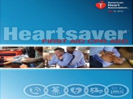 AHA Heart Saver - First Aid and CPR, AED